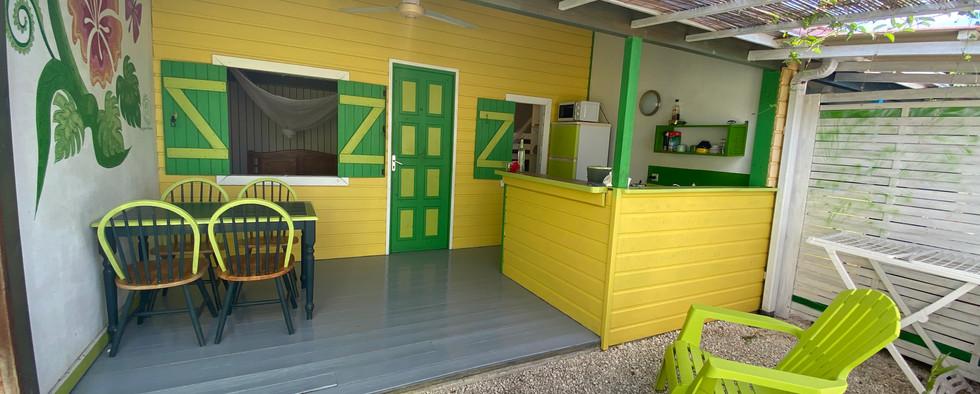 Le jardin d'Antonin | Les gîtes Tit'Anse à Capesterre-de-Marie-Galante