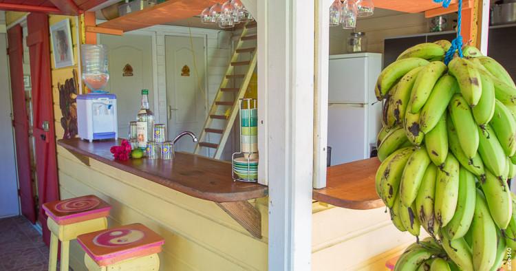 La maison créole   Les gîtes Tit'anse à Capesterre-de-Marie-Galante