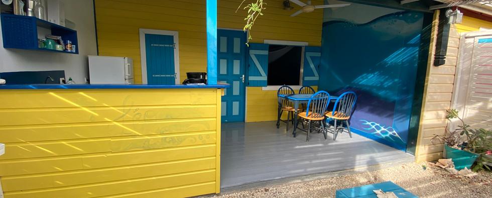 Léo & l'eau | Les gîtes Tit'Anse à Capesterre-de-Marie-Galante