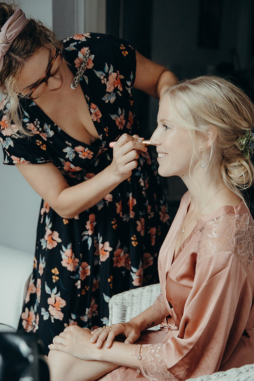 Brautstyling Henrike Bleil - Foto Saskia