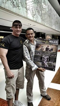 Sifu Chris and Host Reza
