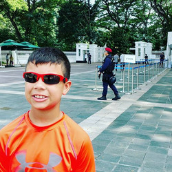 Singapore President Entrance