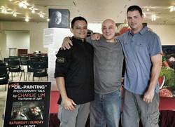 Reza/Master Charlie Lum/Chri