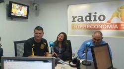 Madrid Radio Station with Host Alan