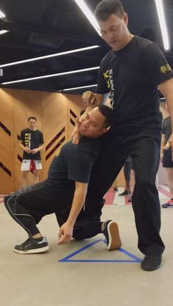 Kuntao Seminar Takedown