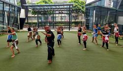 Singapore Silat Class