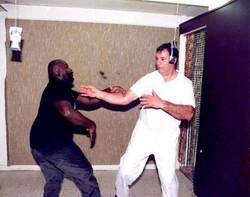 Sifu Lenny Howie/Master Carl Spitale