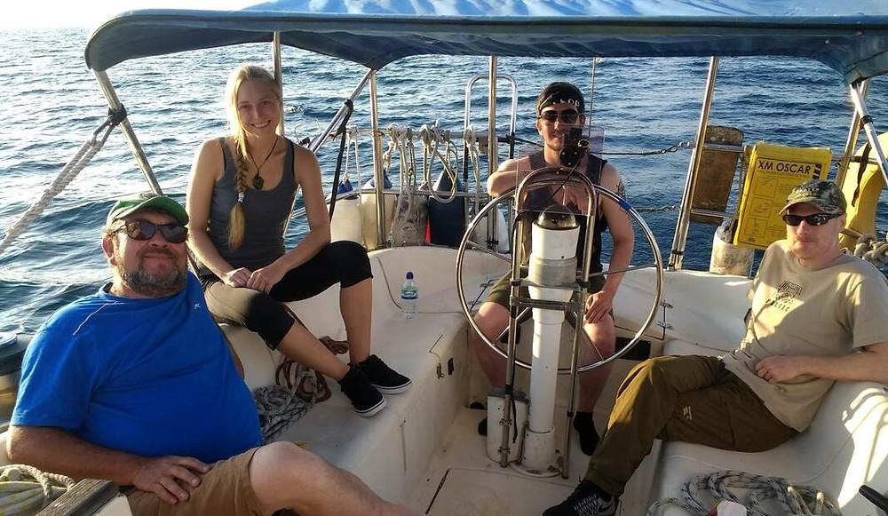 Sailing Irish Sea