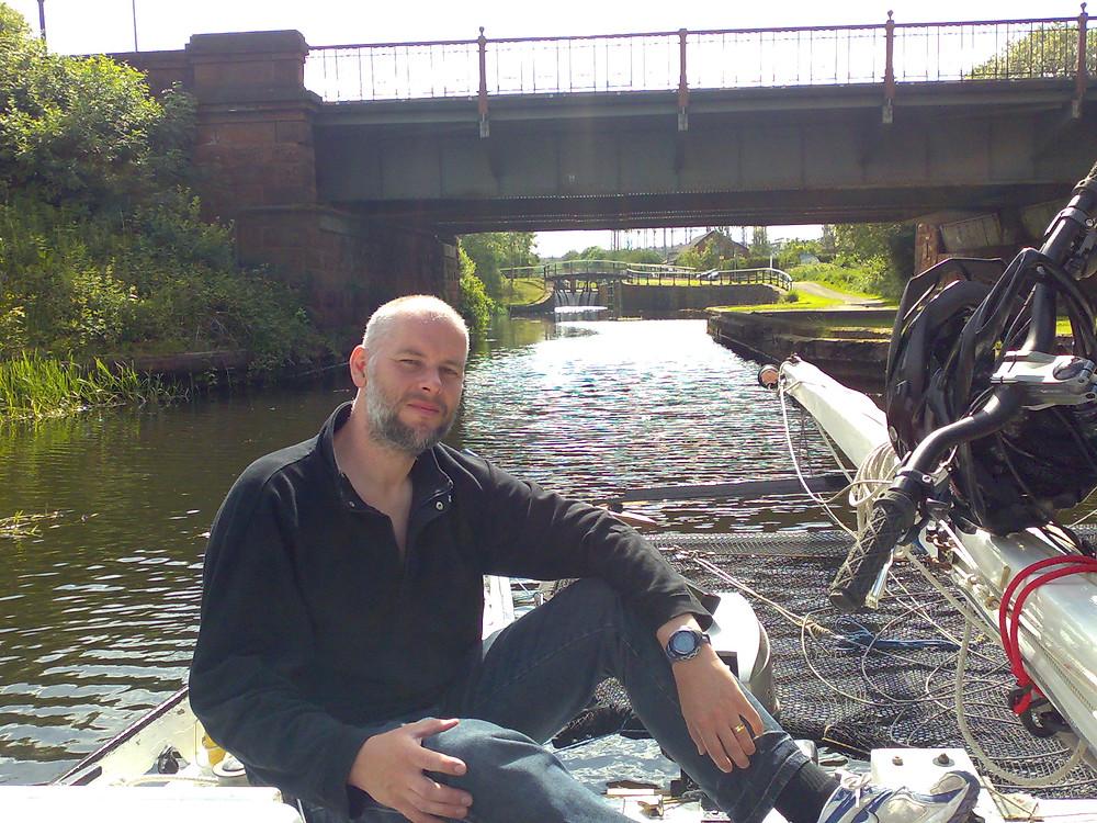 Sailing canal Scotland
