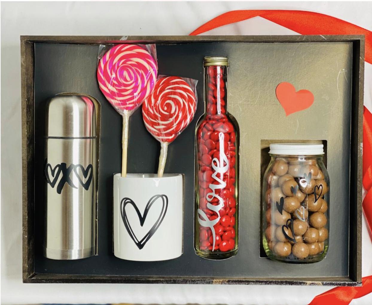 canasta sorpresa San Valentín