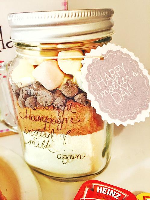 Jar para chocolate caliente