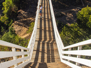 The Most Unique Hike in San Diego: the seven bridges