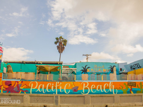 Pacific Beach, San Diego: Sand, Surf and 32oz Margaritas