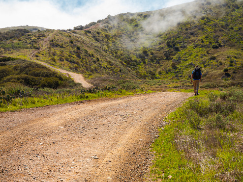 Backpacking Catalina Island: Day 1, Two Harbors to Little Harbor