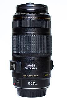 Hannah Unbound's 70-300mm canon lens