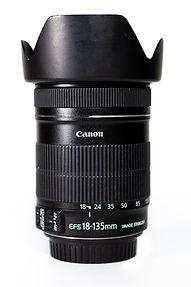 Hannah Unbound's 18-135mm canon lens