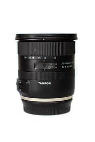 Hannah Unbound's tamron 10-24mm lens