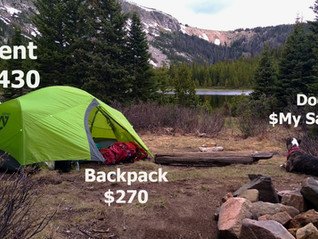 Damn, Camping is Expensive: my top 3 cheap and pricey camping gear that I use
