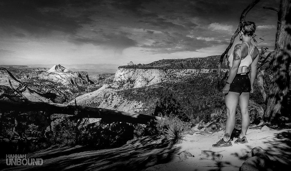 hannah unbound at Zion National Park