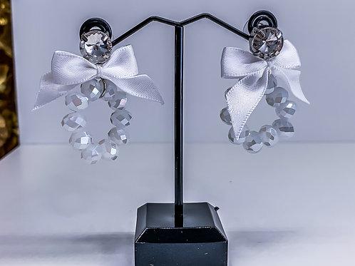 THE WHITE earrings