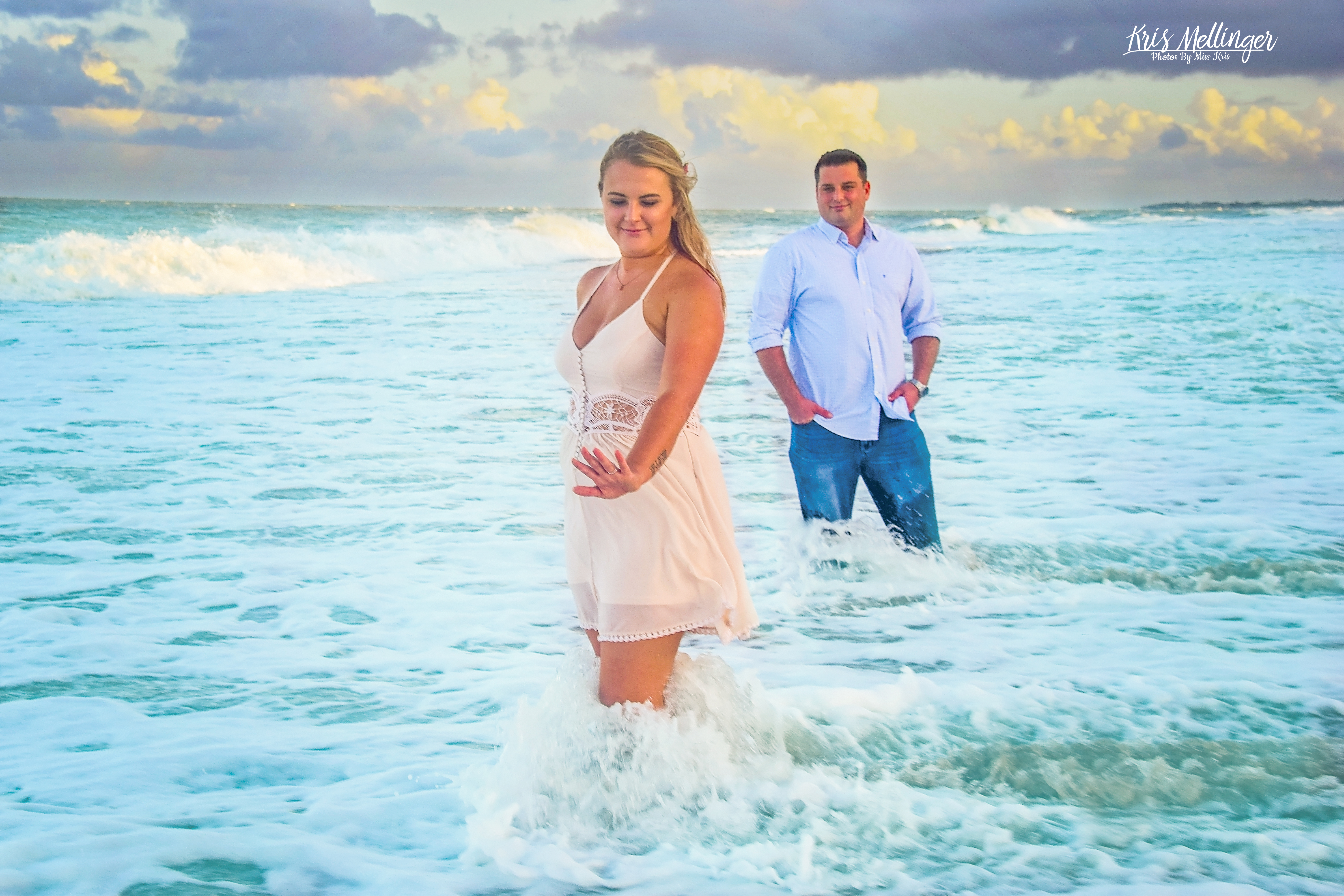 Engagement Session in the water