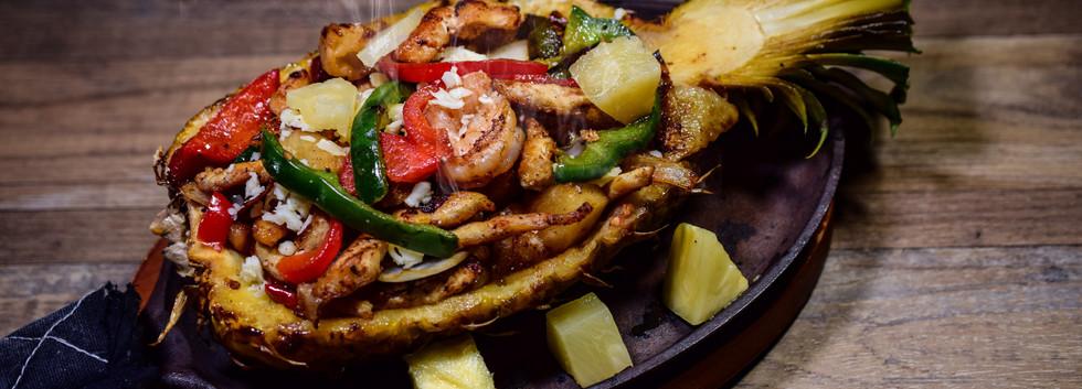 Piña loca  Mexican Food
