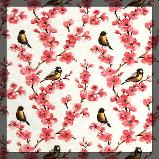 Floral Birds Snuggle Sacks!