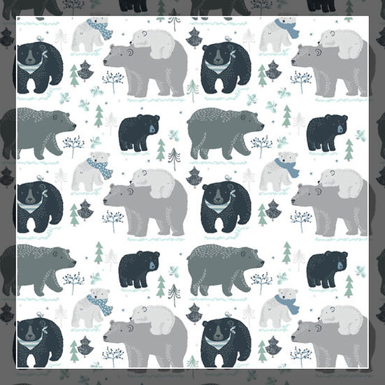 Winter Bears Snuggle Sacks!