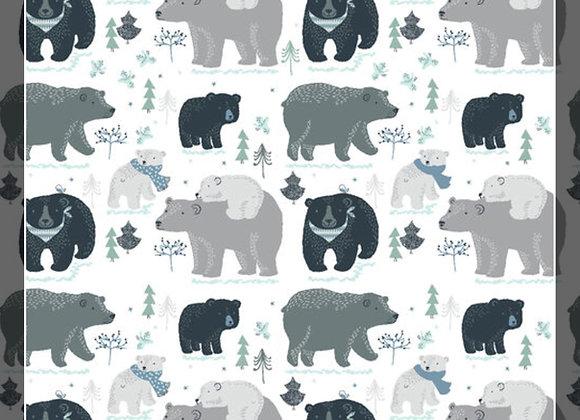 Winter Bears Snuggle Sacks!