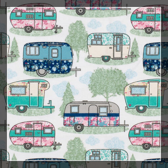 Floral Campers Snuggle Sacks!