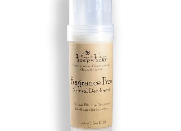 Fragrance Free - All Natural Deodorant