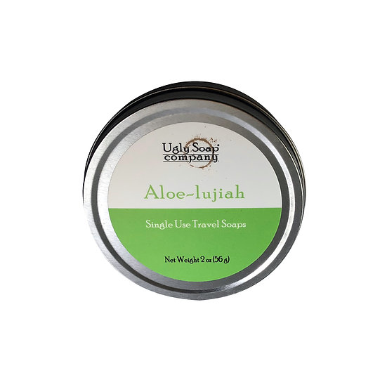 Travel Soap : Aloe-Lujiah