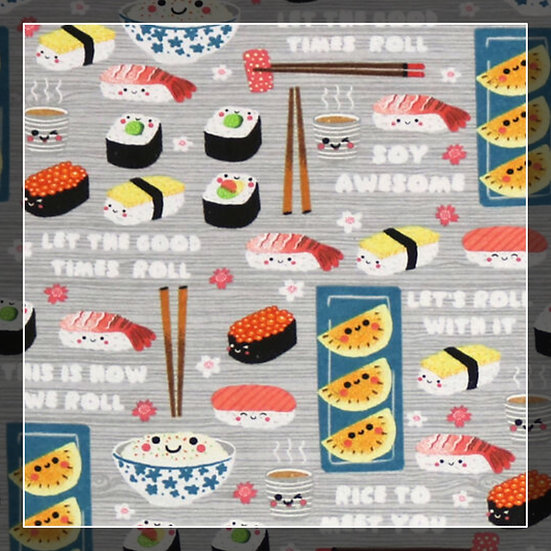 Sushi Snuggle Sacks!