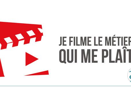 Selection des 4 films pour le concours Je filme le métier qui me plait !