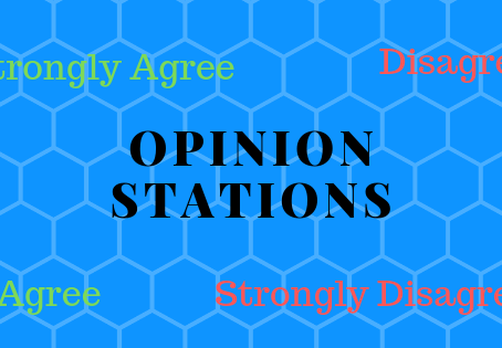 Meaningful talk 6: Opinion stations
