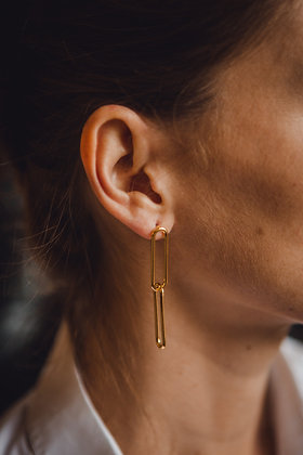 Boucles d'oreilles MAILLON