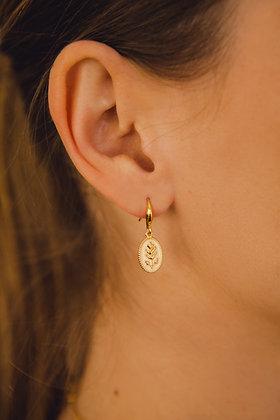 Boucles d'oreilles ENAMEL