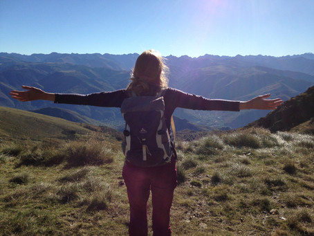 Into the Pyrenees - before the first snow falls again