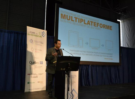 La Foire des Entrepreneurs de Québec – Conférence de Steve COUTURE