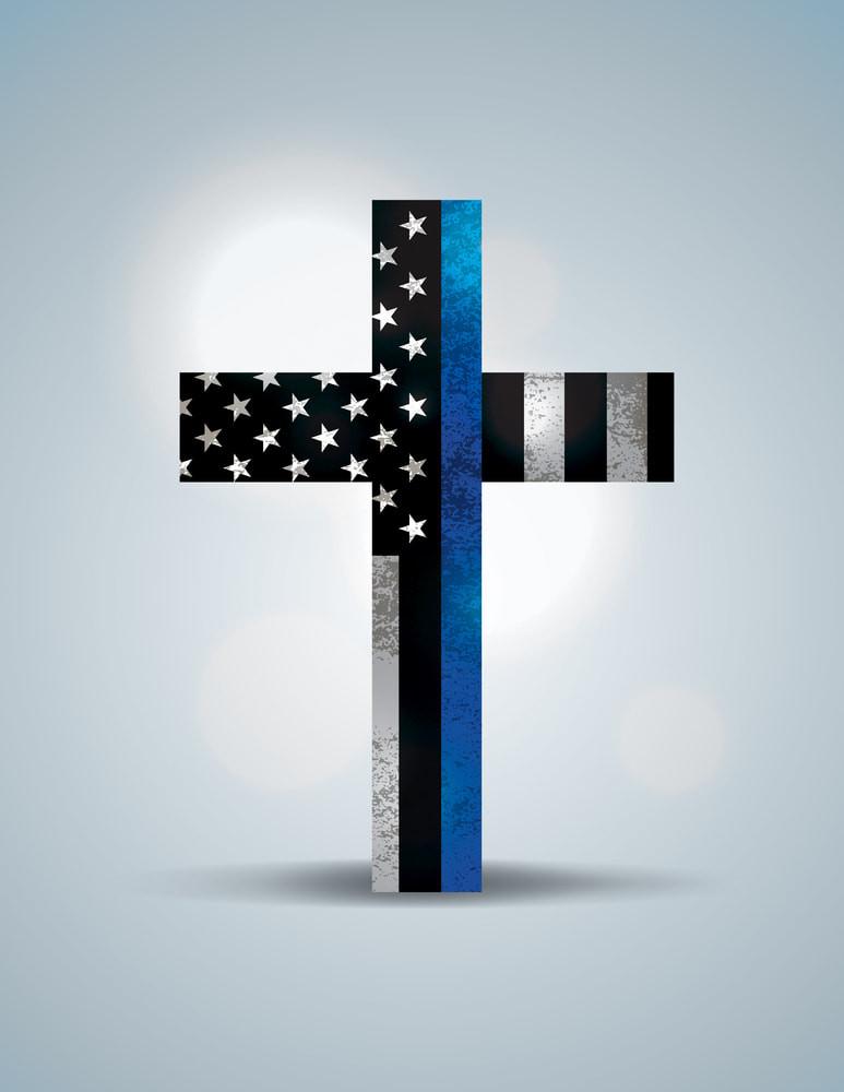 Law enforcement cross