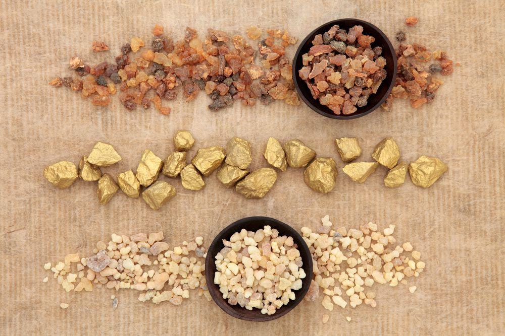 Myrrh, Gold and Frankincense