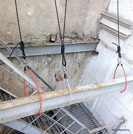 Примеры применения анкерных стропов СВТ