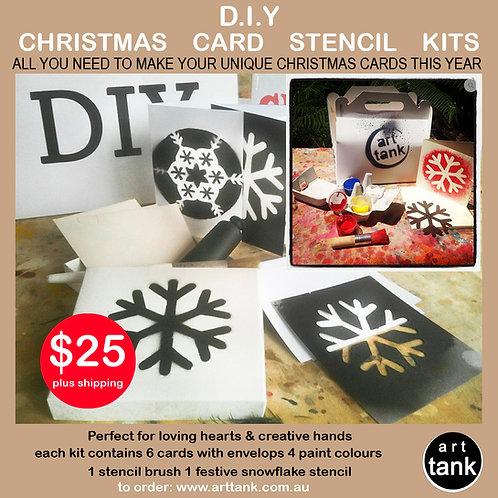 Christmas Card DIY Stencil Kit