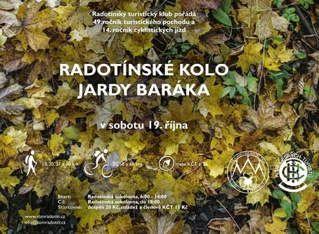 Radotínské kolo Jardy Baráka 2019