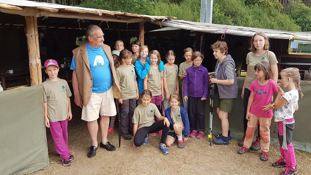 Čimelice 2018 - Návštěva Karla Swarzenberga