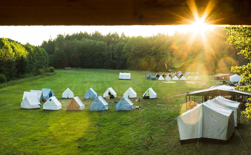 Foto z tábora v Čimelicích 2018