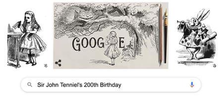 Sir John Tenniel's 200th Birthday
