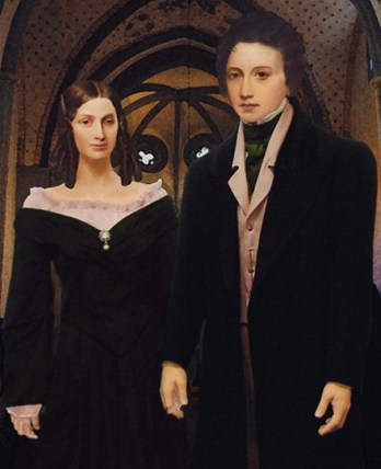 Mary Shelley and Percy