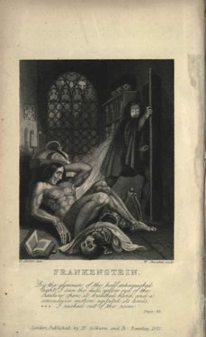 Frankenstein 1831 edition