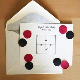 Carroll Diagram mini game on paper